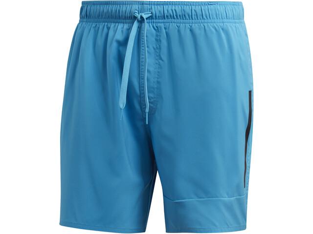 adidas Badge of Sport SL Shorts Men shock cyan/black